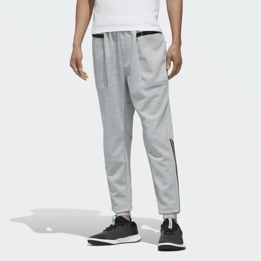 pantaloni adidas grigia