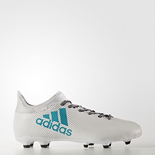 sports shoes fcea3 386f4 SCARPINO ADIDAS X 17.3 FG BIANCO NERO